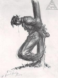 Howard Brodie German Execution