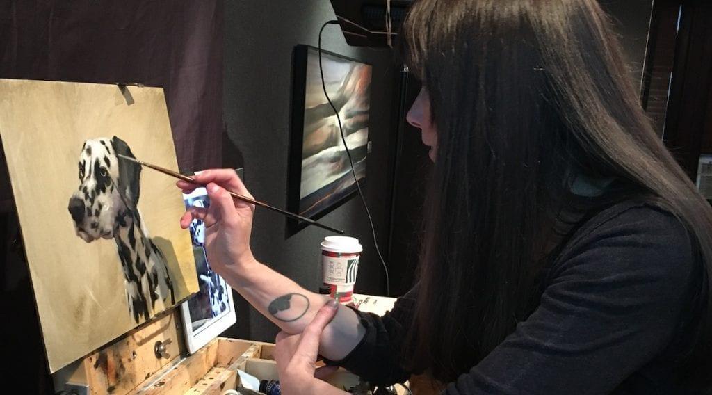 Jennifer Gennari Oil Painting Demo