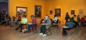 Denver Art Museum Drop in Drawing