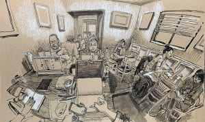 Paul Heaston Wide Angle Sketching Workshop