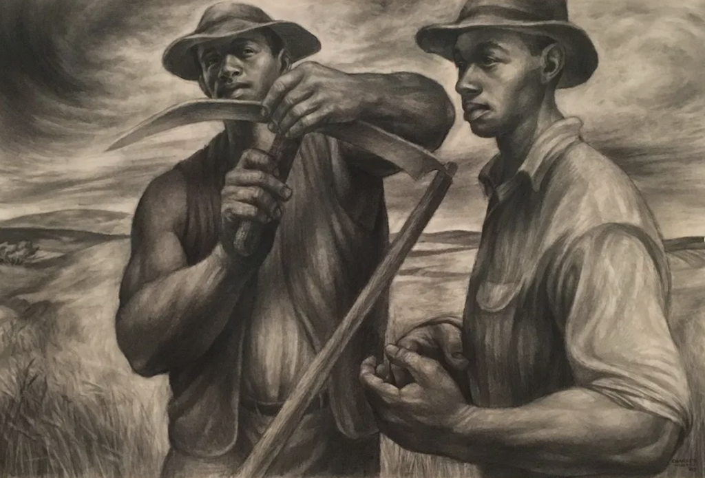 Charles White Drawing