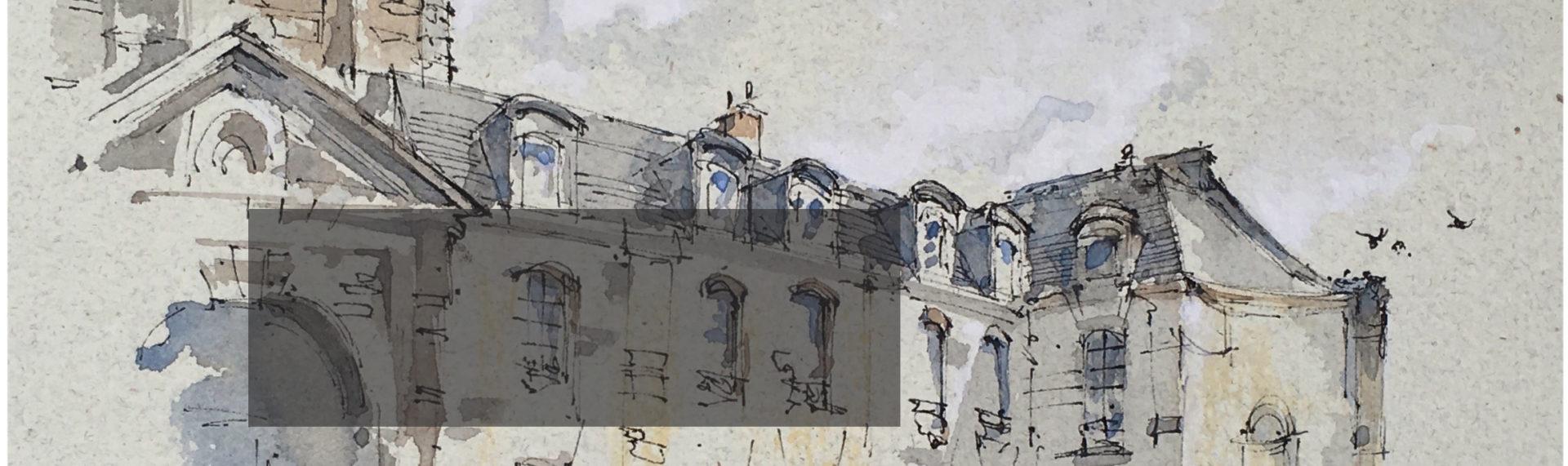 Alex Hillkurtz 6 Week Live Watercolor Class from Paris (Winter)