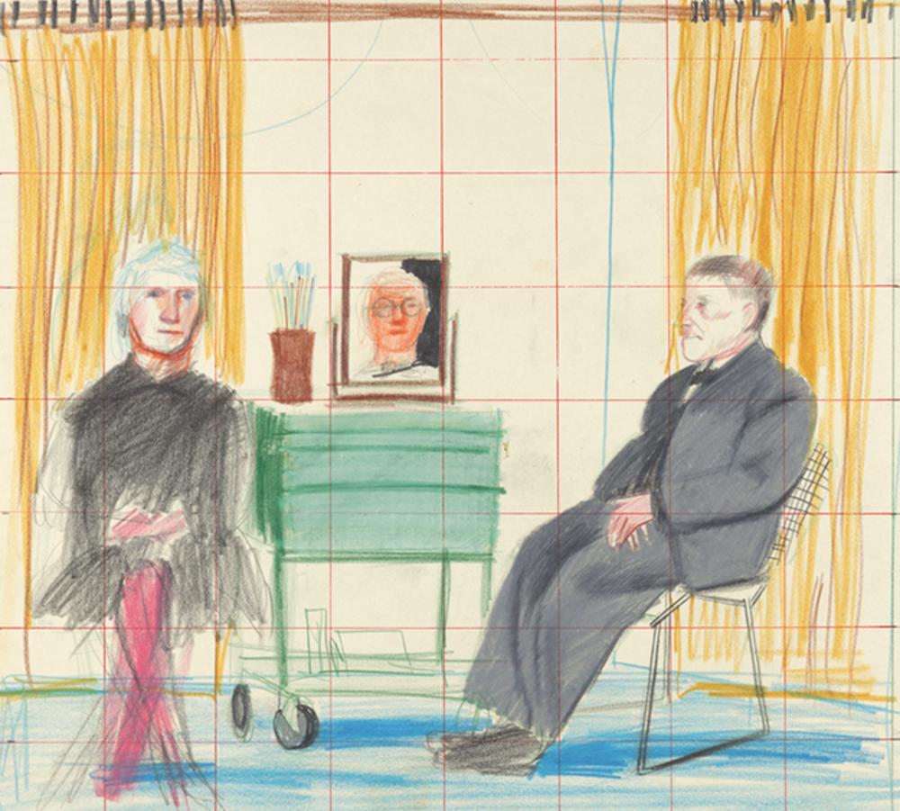 Guided Sketching: Portraits at Home – The Morgan