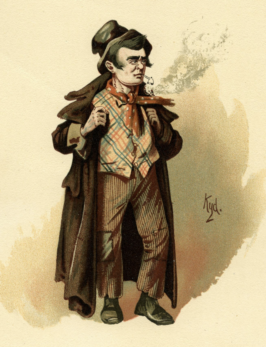 Live Costume Drawing – Dickens Month!